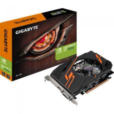 Видеокарта GeForce GT 1030 1265МГц 2Гб Gigabyte (PCI-E 16x 3.0, GDDR5, 64бит, 1xDVI, 1xHDMI) [GV-N1030OC-2GI]