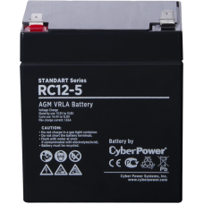 Батарея CyberPower RC 12-5 (12В, 5Ач) [RC 12-5]
