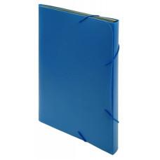 Портфель Бюрократ -BPR13BLUE (13 отделений, A4, пластик, 0,7мм, синий) [BPR13BLUE]