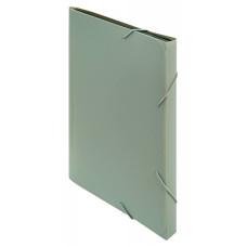 Портфель Бюрократ -BPR6GREY (6 отделений, A4, пластик, 0,7мм, серый) [BPR6GREY]