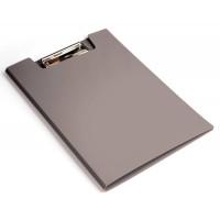 Папка клип-борд Бюрократ -PD602GREY (A4, пластик, толщина пластика 1,2мм, серый) [PD602GREY]